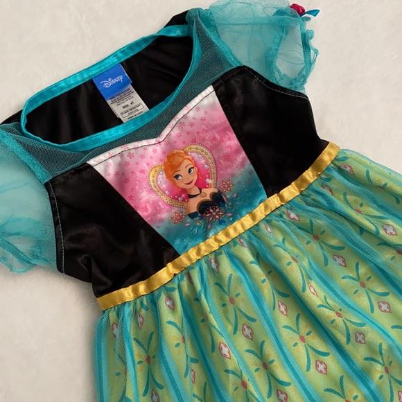 Disney Frozen Fever Anna Dress-Up Nightgown